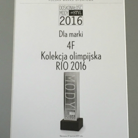 Recognition for RIO 2016 Olympic collection